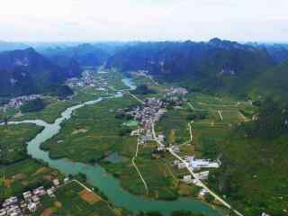 重庆旅游 重庆喀斯特地貌高清壁纸 重庆城市夜景高清壁纸