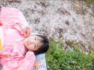 日本和服少女写真壁纸 清纯和服美女高清桌面壁纸