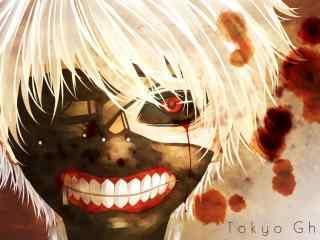 日本动漫东京食尸鬼桌面壁纸 东京食尸鬼人物组合高清图片