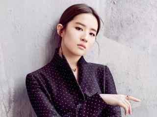 刘亦菲时尚写真图片 刘亦菲唯美桌面壁纸 夜孔雀刘亦菲