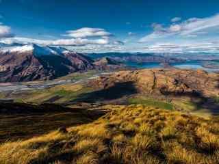 新西兰自然风景高清图片 新西兰牧场桌面壁纸下载