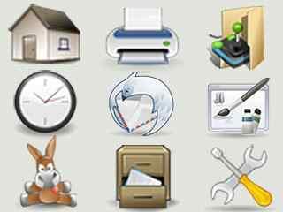 系统文件夹ip桌面图标包 精美文件夹ip图标包