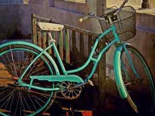 唯美自行车图片 怀旧自行车桌面图片 记忆自行车图