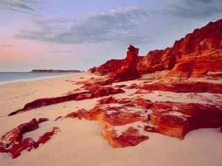 澳大利亚美景图片 澳大利亚沙滩旅游桌面壁纸 澳大利亚峡谷图片