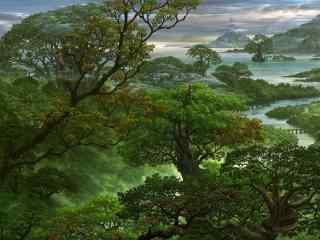 唯美秋日桌面壁纸 秋天风景图片 秋季特写摄影壁纸