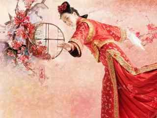 醉玲珑刘诗诗最新古装壁纸_吴奇隆妻子_凤卿尘刘诗诗最美古装桌面壁纸