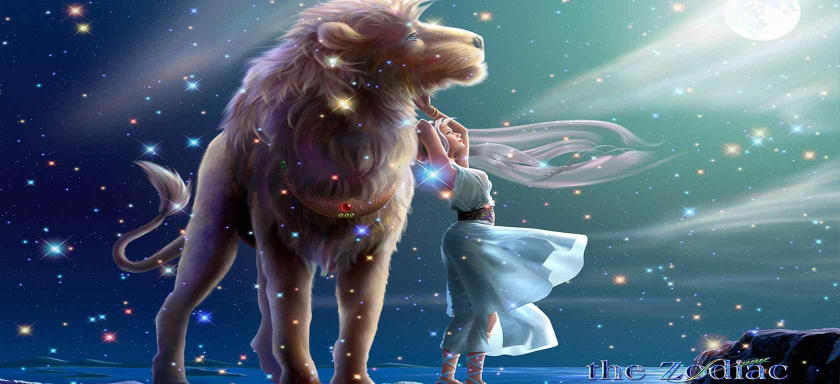 狮子座_十二星座狮子座_狮子座女生、男生_狮子座星座壁纸