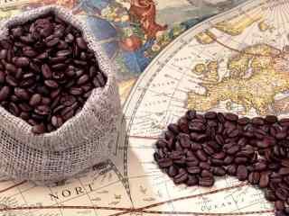 咖啡美食_咖啡_咖啡豆_咖啡美食圖(tu)片壁紙(zhi)
