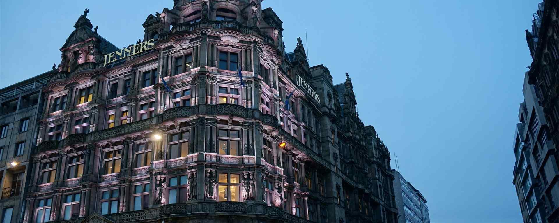 苏格兰爱丁堡_城堡建筑_城市街景_文化节壁纸