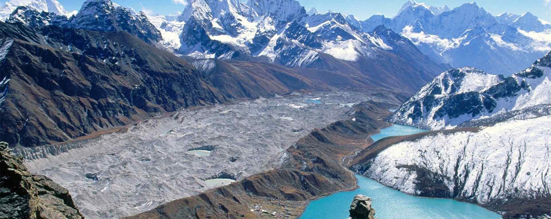 神秘天空之境尼泊尔_自然风景_宗庙建筑文化_电影等风来尼泊尔拍摄风景壁纸