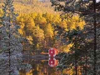 北欧国家挪威_挪威峡湾风景_挪威极光_挪威的森林桌面壁纸