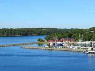 芬兰_芬兰旅游_芬兰自然风景_芬兰唯美雪景_北欧浪漫城市风光壁纸