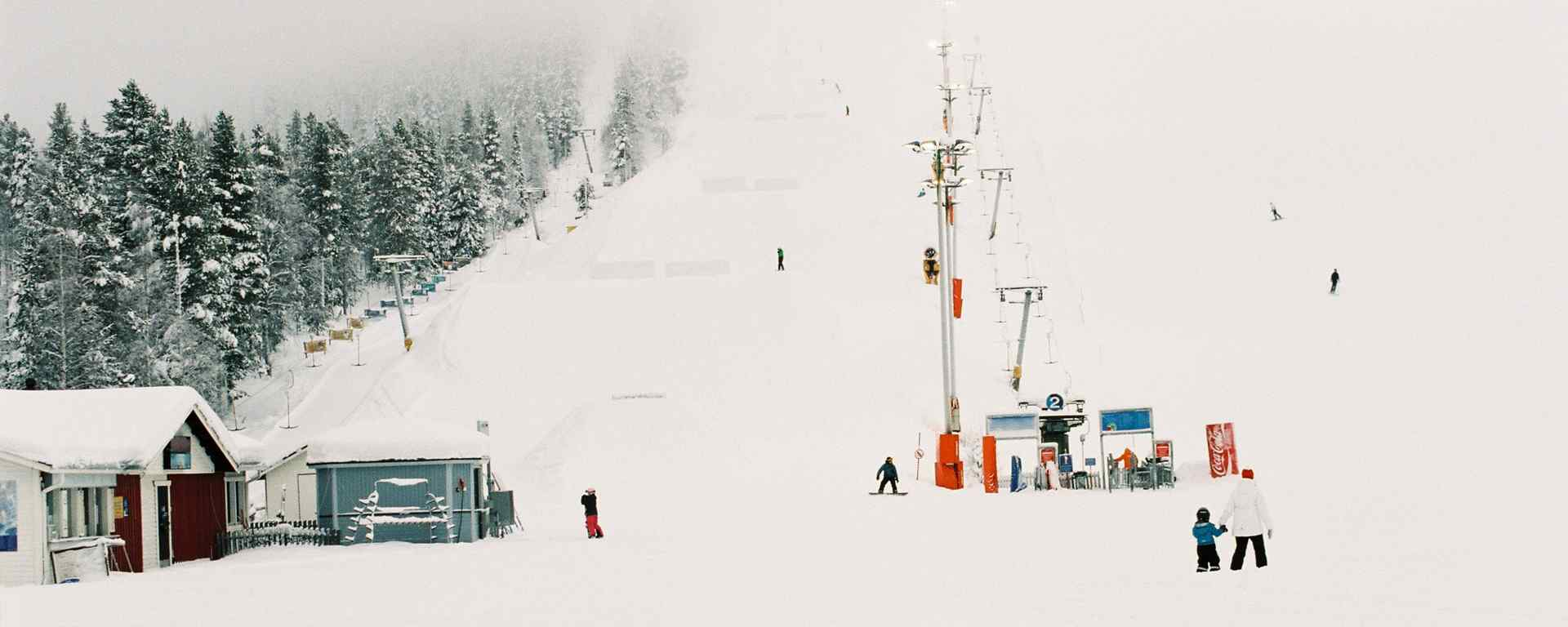 滑雪场_白雪皑皑静谧唯美的滑雪场_小清新滑雪场图片_帅气滑雪图片壁纸