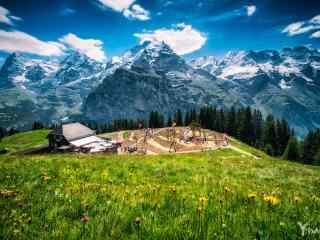 瑞士_瑞士风景桌面壁纸、手机壁纸_瑞士雪山风景图片_瑞士城市风景高清桌面壁纸下载