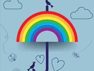 彩虹_彩虹图片_彩虹桌面壁纸_彩虹手机壁纸_卡通彩虹图片_彩虹风景壁纸