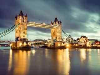 泰晤士河_泰晤士河风景壁纸电脑桌面_泰晤士河高清夜景图片壁纸下载