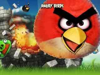 愤怒的小鸟游戏壁纸 小游戏愤怒的小鸟 小游戏图片