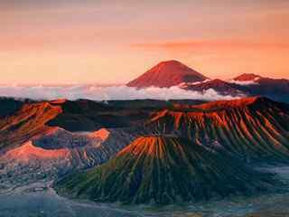火山风景图片_壮观火山风景图片_火山爆发图片_火山风景手机壁纸_风景图片