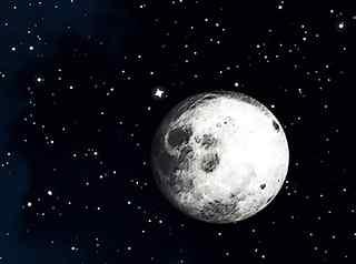 唯美月色图片_月亮桌面壁纸_月亮手机壁纸_月光图片_风景壁纸