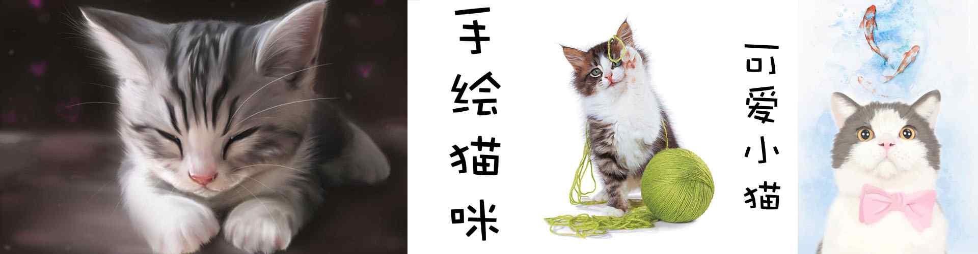 手绘猫咪_手绘猫咪图片_手绘猫咪桌面壁纸、手机壁纸_卡通手绘猫咪图片大全