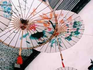 油纸伞_油纸伞图片_油纸伞手绘图片_油纸伞下女子唯美图片_油纸伞手机壁纸_静物图片
