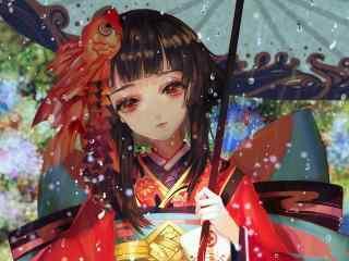 阴阳师神乐_神乐阴阳师图片_神乐cosplay壁纸_阴阳师游戏壁纸