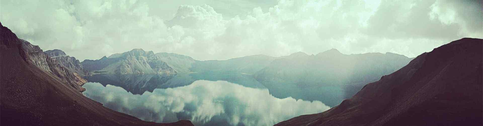长白山天池_长白山天池风景图片_夏日避暑清凉风景图片_风景壁纸