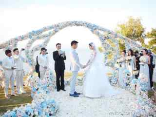 劉詩詩婚禮