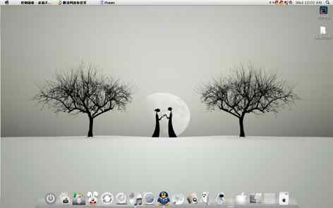 独爱白色-苹果桌