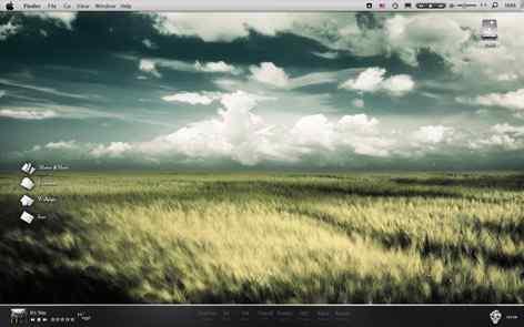 唯美windows7桌面