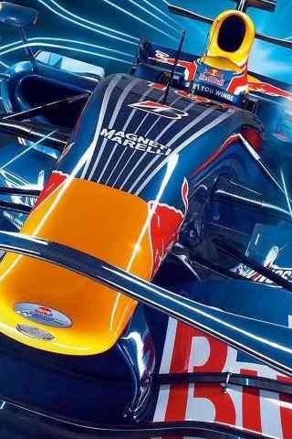 酷炫狂霸拽F1赛车手机壁纸