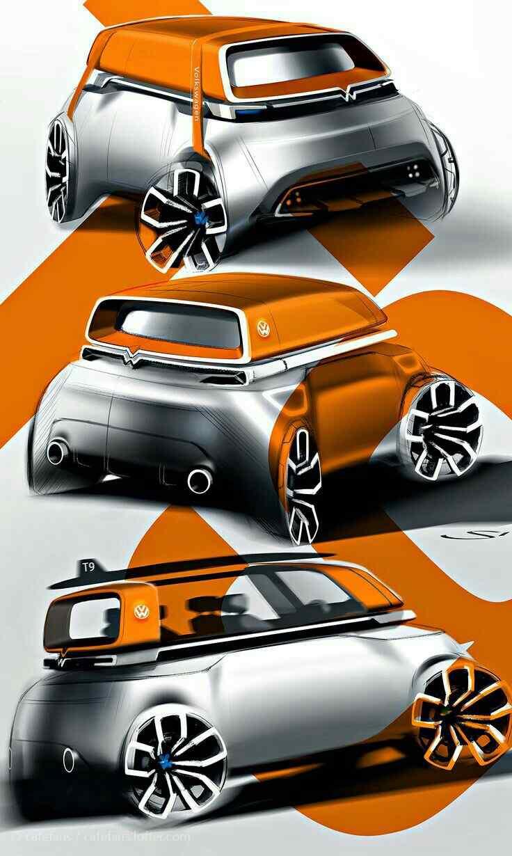 大众汽车酷炫设计手机壁纸