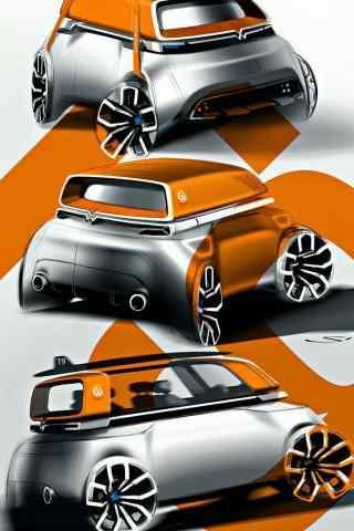 大众汽车酷炫设计