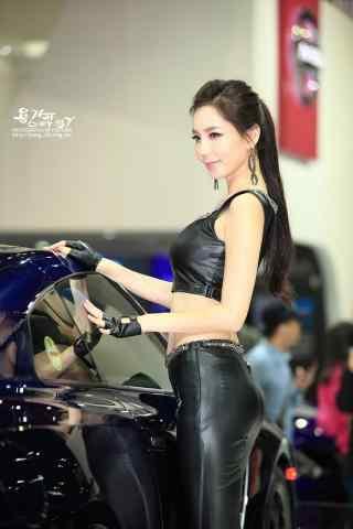 韩国车模性感图片