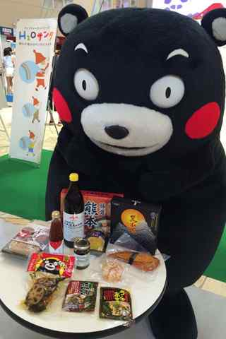 呆萌可爱的熊本熊