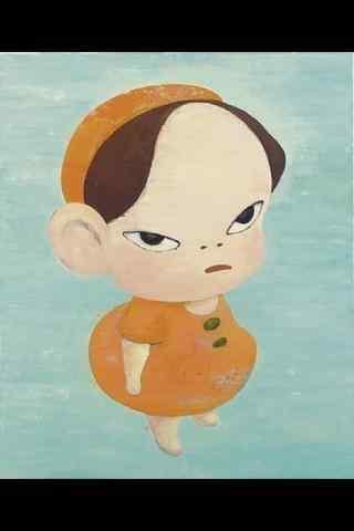 奈良美智手绘高清