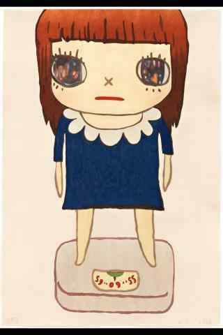 奈良美智手绘漫画