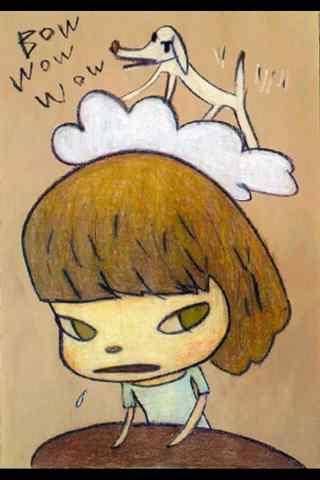 奈良美智手绘手机