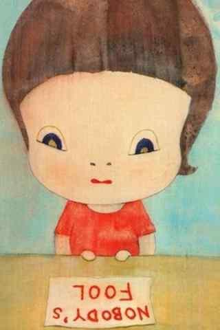 奈良美智大头娃娃