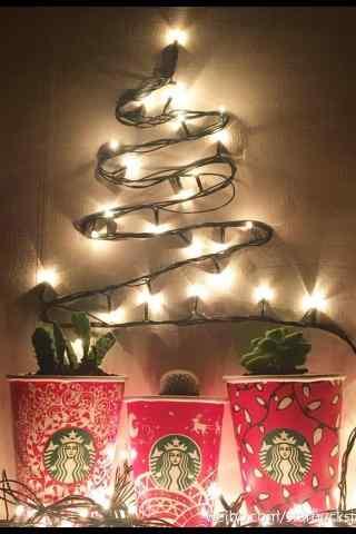 星巴克圣诞专题图片手机壁纸