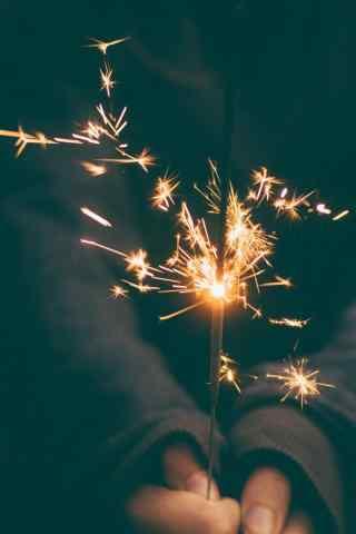 唯美意境的小焰火图片
