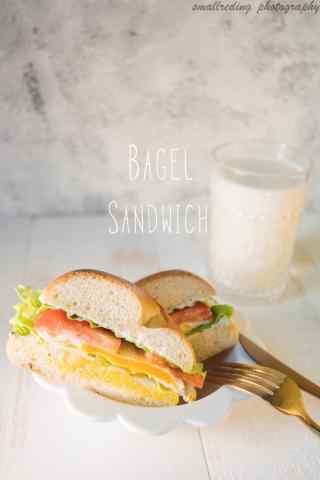 营养三明治面包早餐图片手机壁纸