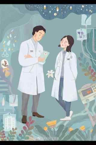 电视剧外科风云手绘手机壁纸
