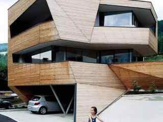 建筑创意设计桌面