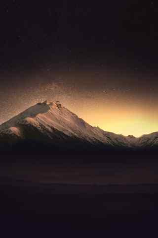 手机风景壁纸:诗和远方 无限夕阳