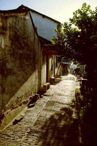 江南水乡之周庄古镇小巷风景壁纸