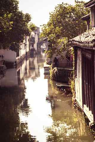 文艺浪漫的水乡周庄风景壁纸