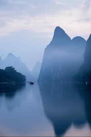 犹如仙境的桂林山水风景壁纸