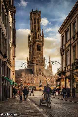 荷兰城市风景手机壁纸