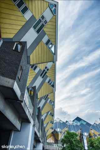 荷兰的个性创意建筑手机壁纸